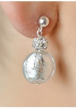 Eclat wedding earrings