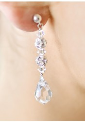 Glamour bridal earrings