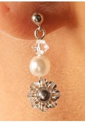 Idylle bridal earrings