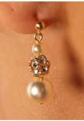 Margaux bridal earrings