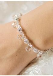 Gouttes bridal bracelet