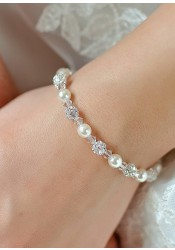 Innocence bridal bracelet