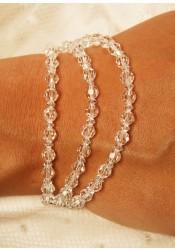 Lune bridal bracelet