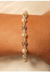 Margaux bridal bracelet