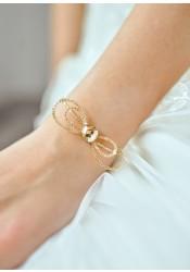 Alice honey bridal bracelet