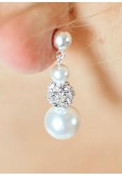 Innocence bridal earrings