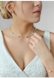 Carolina bridal necklace