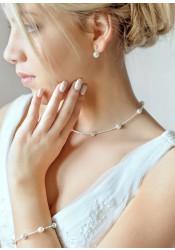 Elena bridal necklace