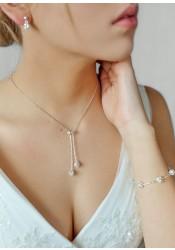 Emilie bridal necklace