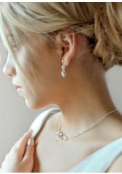 Jessica bridal necklace