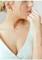 Laetitia bridal necklace
