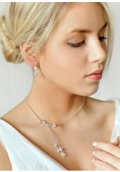 Sparkle bridal necklace