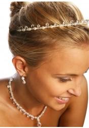 Gouttes Perles bridal Tiara