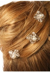 Elégance bridal hair pins