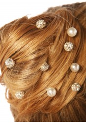 Innocence bridal hair pins