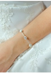Carolina bridal bracelet