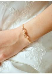 Jessica honey bridal bracelet