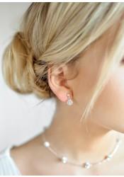 Carolina bridal earrings