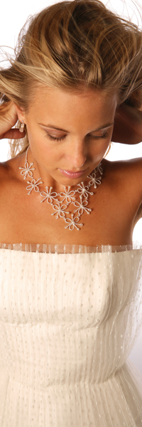 Collier mariage Rosa